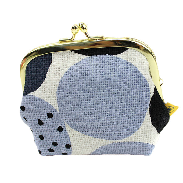Ball Clasp Coin Purse | Mochi | Black - CHERRYSTONE