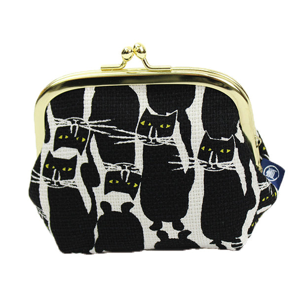 Ball Clasp Coin Purse | Standing Cats - CHERRYSTONE