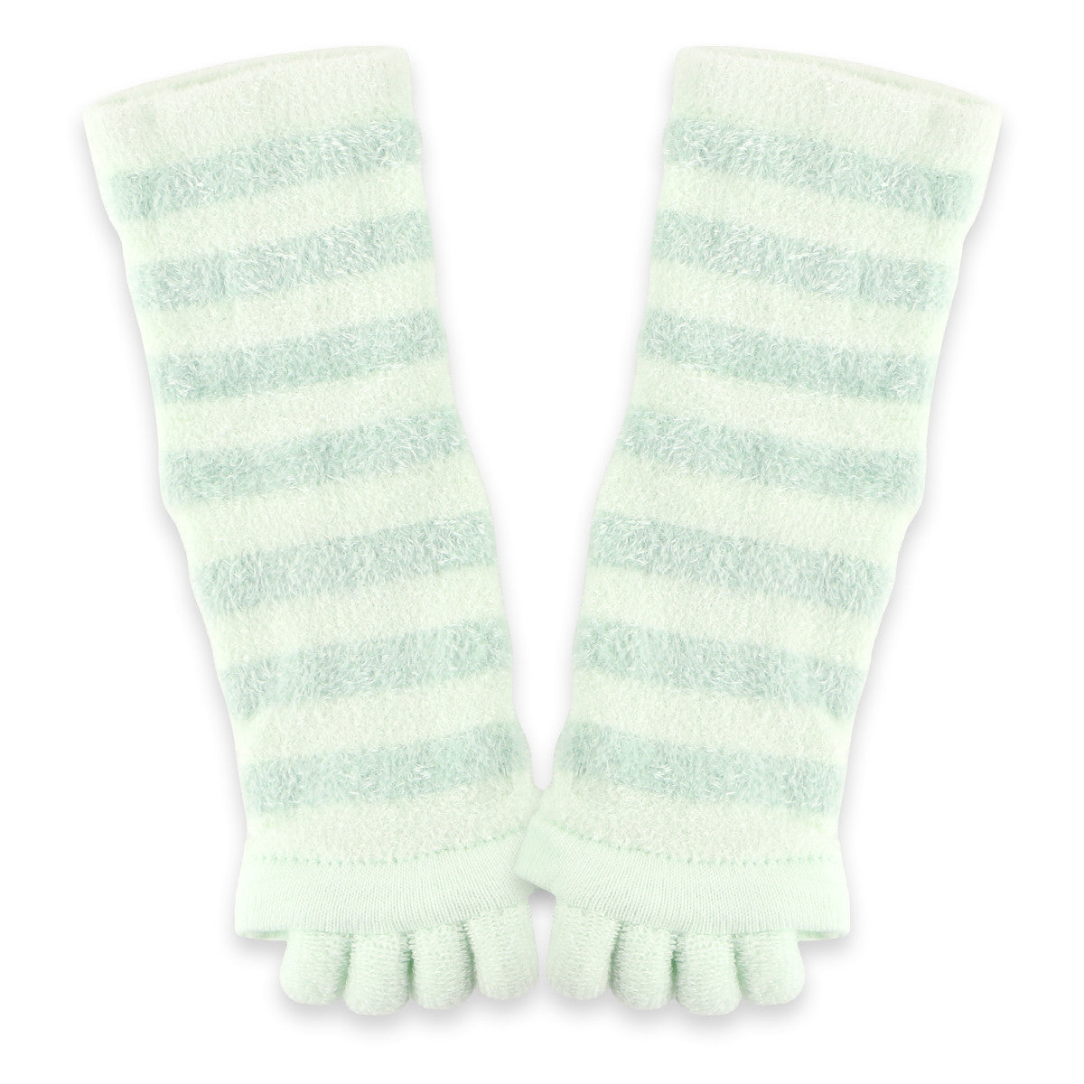 Refreshing Toe Separator Crew Socks | Mint - CHERRYSTONE