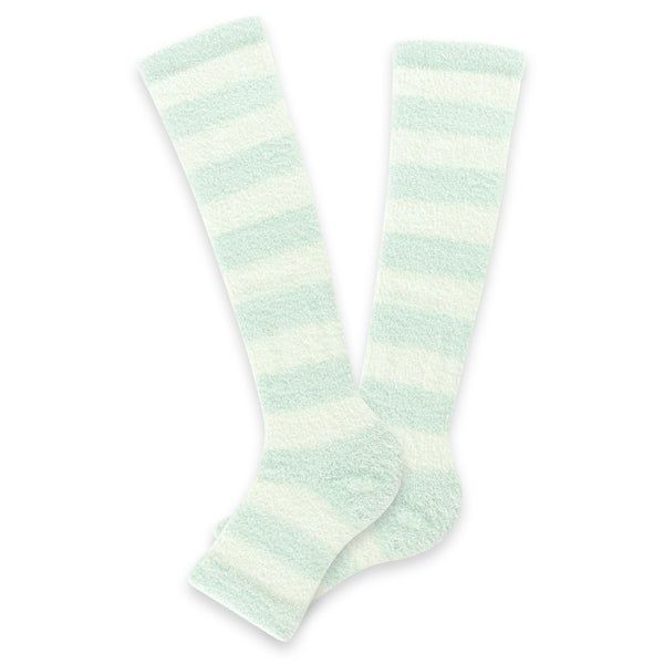 Refreshing Toeless Compression Socks | Knee-high | Mint - CHERRYSTONE