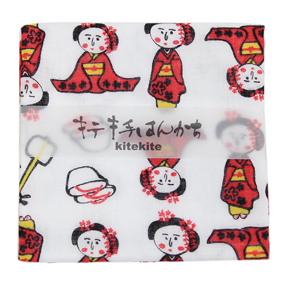 Japanese 100% Cotton Mini Towel for Daily Use and Gift Item | Maiko - CHERRYSTONE