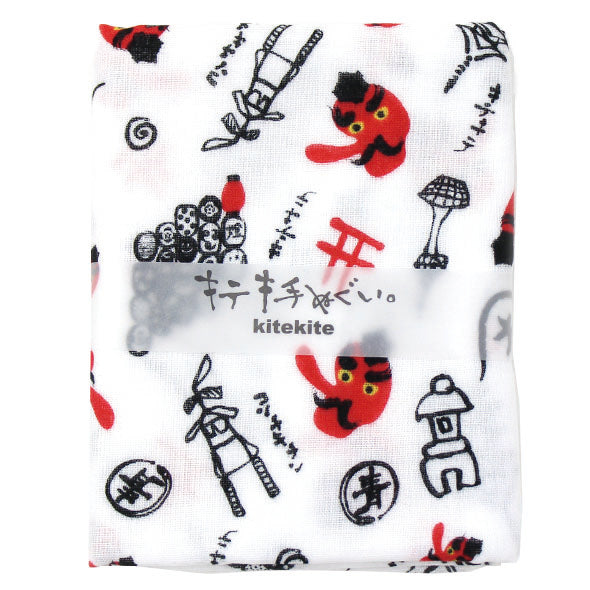 Japanese Tenugui 100% Cotton Towel | Tengu - CHERRYSTONE by MARKET TO JAPAN LLC