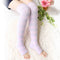 Refreshing Toeless Compression Socks | Over-the-knee | Lavender - CHERRYSTONE by MARKET TO JAPAN LLC