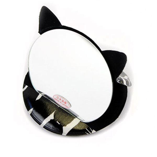 Cat Shaped Compact Mirror | Medium | Standing Cats - CHERRYSTONE