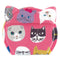 Cat Shaped Compact Mirror | Cat Expo | Pink | Size Small or Large - CHERRYSTONE by MARKET TO JAPAN LLC