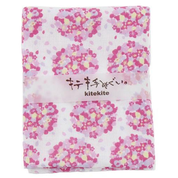 Japanese Tenugui 100% Cotton Towel | Sakura Bouquet - CHERRYSTONE