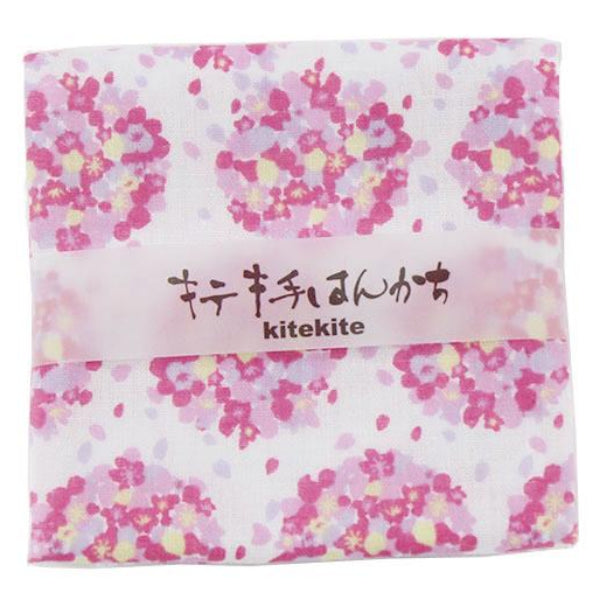 100% Lightweight Cotton Handkerchief | Sakura Bouquet - CHERRYSTONE