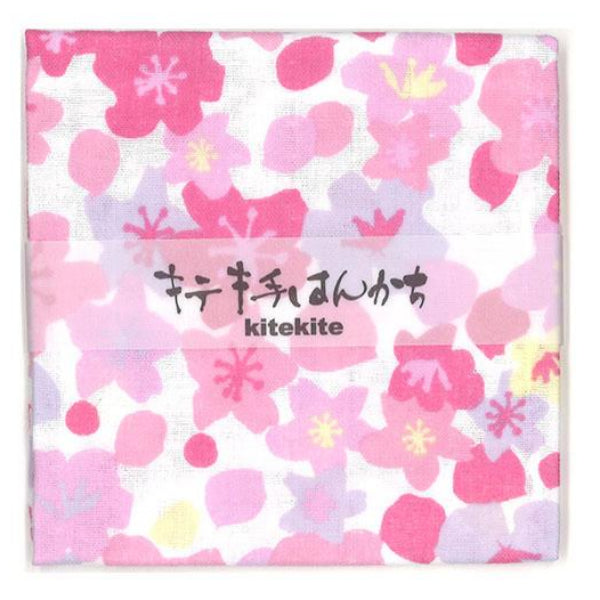 100% Lightweight Cotton Handkerchief | Blooming Cherry Blossom - CHERRYSTONE