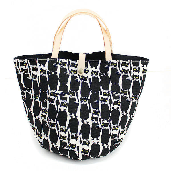 Bucket Tote Bag | Standing Cats - CHERRYSTONE