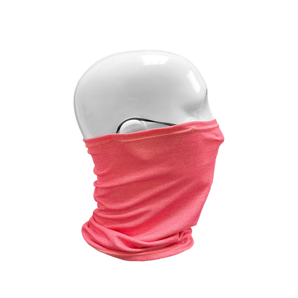 Quick Dry Cooling Unisex Neck Gaiter Face Mask with Ear Loops | Boss Pink - CHERRYSTONE