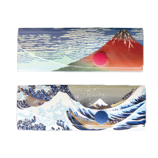 Reusable Foldable Chopsticks Cover (2PK) | Mt. Fuji - CHERRYSTONE by MARKET TO JAPAN LLC