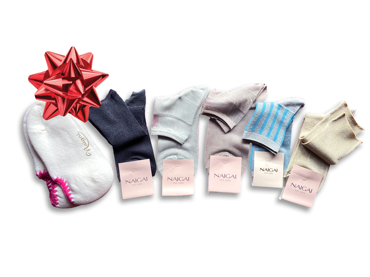 Gift Set Deal- 6 Pairs Add a Little Sparkle Socks - CHERRYSTONE by MARKET TO JAPAN LLC