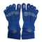 5 Toes Arch Support Ankle Running Socks with Grips for Men | Blue - CHERRYSTONE