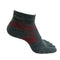 5 Toes Arch Support Ankle Running Socks with Grips for Men | Grey - CHERRYSTONE by MARKET TO JAPAN LLC