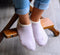 CHERRYSTONE® Slipper Socks | Angora with Grips | *NEW!* Frosty Lavender - CHERRYSTONE