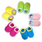 FOR KIDS | CHERRYSTONE® Slipper Socks | Candy Color with Grips | Lime | 2-4T - CHERRYSTONE