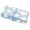 Reusable Foldable Lunch Box | Medium or Large | Blue Sky Pattern - CHERRYSTONE by MARKET TO JAPAN LLC