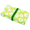 Reusable Foldable Lunch Box | Medium or Large | Green Leaf Pattern - CHERRYSTONE by MARKET TO JAPAN LLC