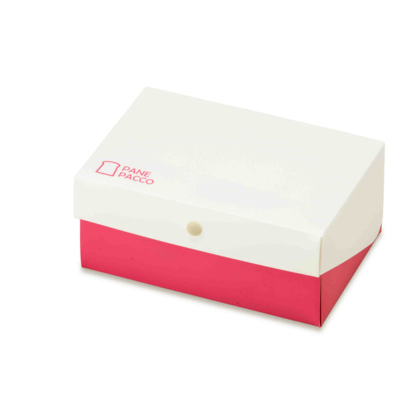 Reusable Foldable Sandwich Box | Pink & White - CHERRYSTONE