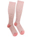Everyday Knee High Compression Socks| Floral | Pink - CHERRYSTONE by MARKET TO JAPAN LLC