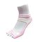 Bunion Support Foot Care Socks | White/Pink - CHERRYSTONE