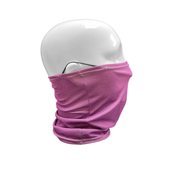 Quick Dry Unisex Gaiter Face Mask with Ear Loops | Proud Purple - CHERRYSTONE