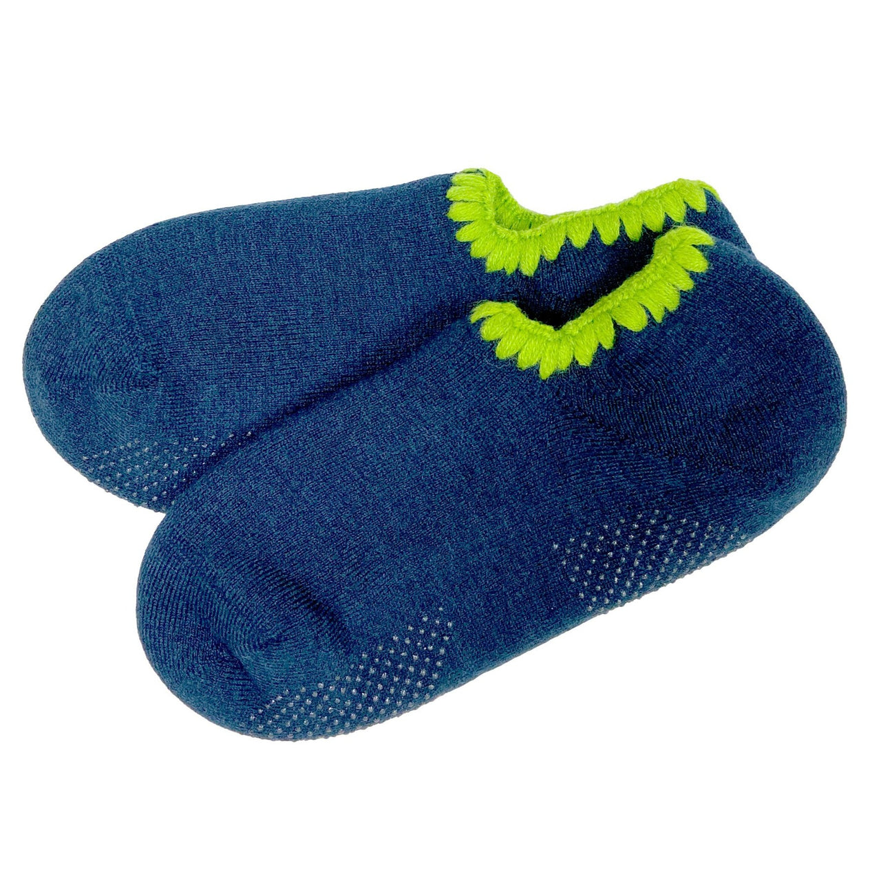 CHERRYSTONE® Slipper Socks | Seattle Limited Edition with Grips | Midnight Blue - CHERRYSTONE