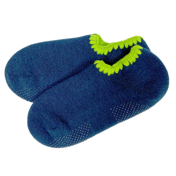 CHERRYSTONE® Slipper Socks | Seattle Limited Edition with Grips | Midnight Blue - CHERRYSTONE by MARKET TO JAPAN LLC