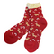 Soft Knit Animal Crew Socks | Dachshund | Red - CHERRYSTONE by MARKET TO JAPAN LLC