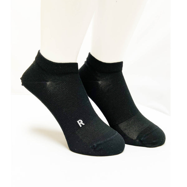 Arch Support Performance Socks | Running | Women |  Winning Black - CHERRYSTONE