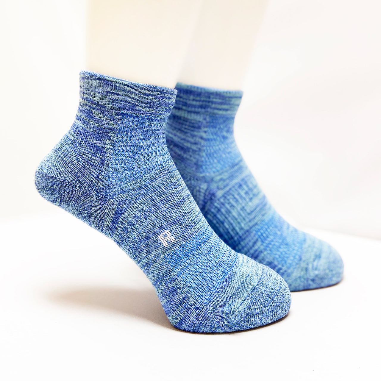 Arch Support Athletic Socks | Walking | Women | Blue - CHERRYSTONE by MARKET TO JAPAN LLC