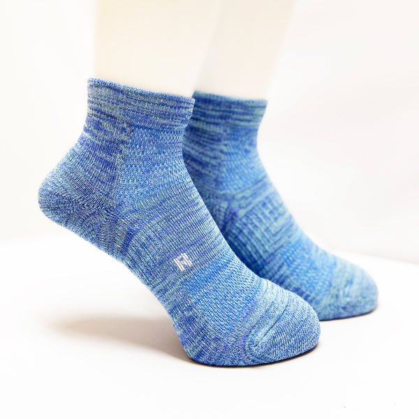 Arch Support Athletic Socks | Walking | Women | Blue - CHERRYSTONE