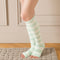 Refreshing Toeless Compression Socks | Knee-high | Lavender - CHERRYSTONE by MARKET TO JAPAN LLC