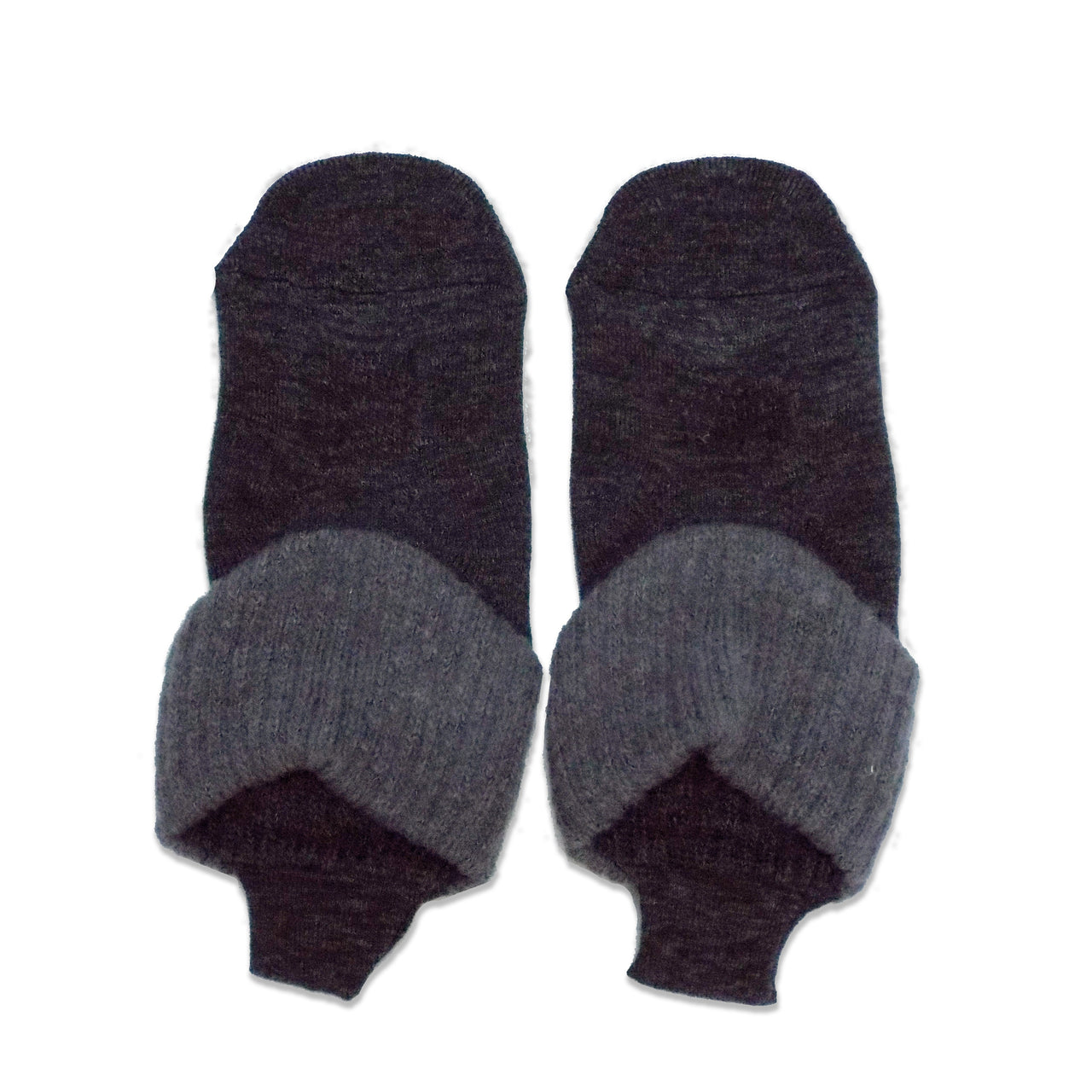 Loop Socks with Grips | Medium Size | Charcoal - CHERRYSTONE
