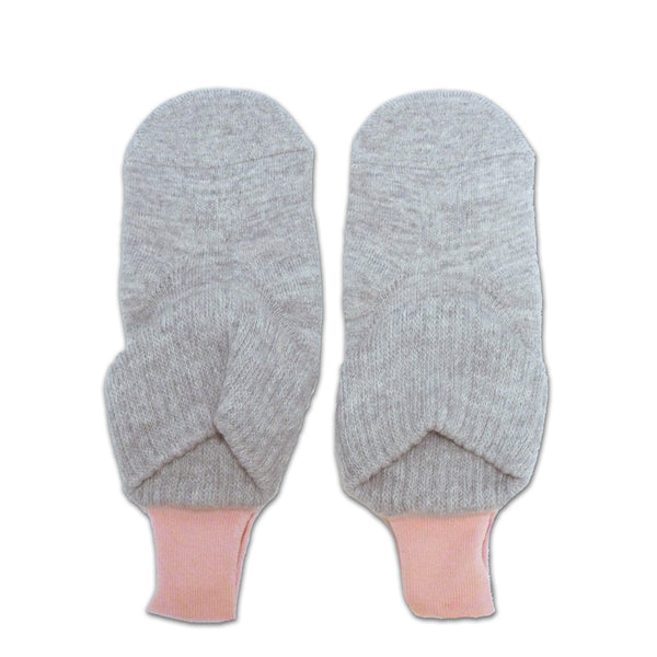 Loop Socks with Grips | Small Size | Gray - CHERRYSTONE
