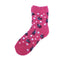 Soft Knit Animal Crew Socks | Rabbit | Pink - CHERRYSTONE