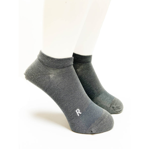 Arch Support Performance Socks | Running | Women |  Performance Gray - CHERRYSTONE