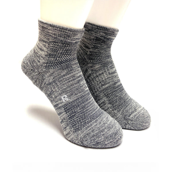 Arch Support Athletic Socks | Walking | Women | Gray - CHERRYSTONE
