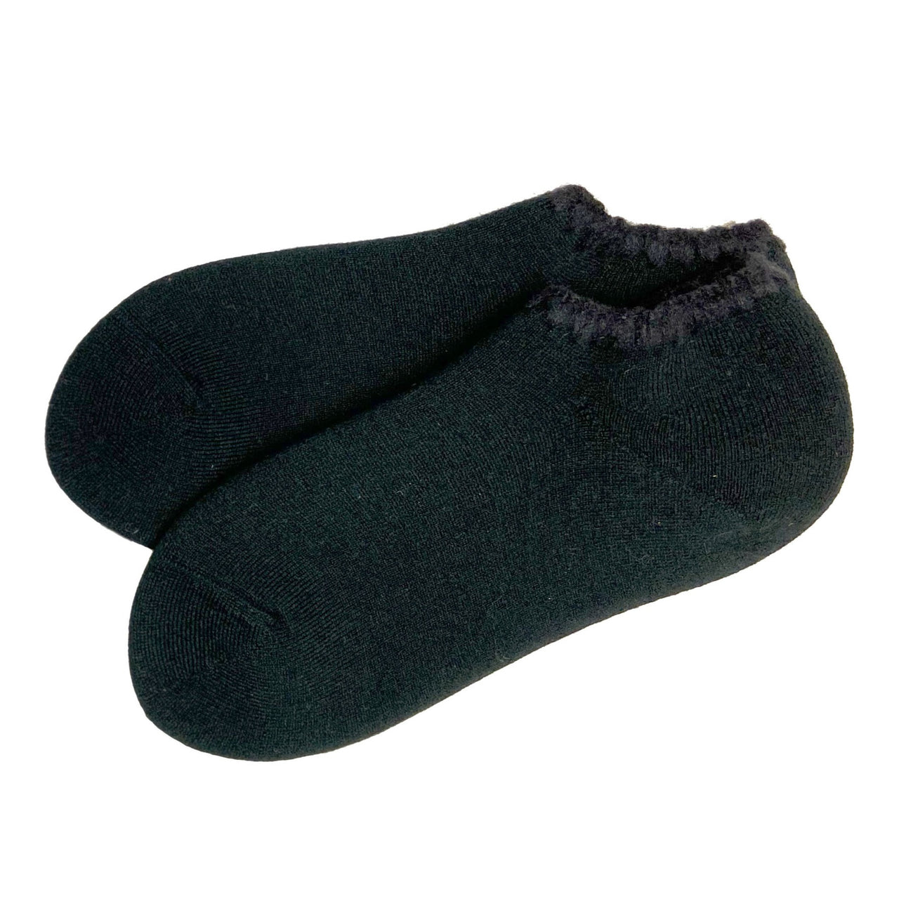 CHERRYSTONE® Slipper Socks with Grips | Size Large | Onyx Black - CHERRYSTONE by MARKET TO JAPAN LLC