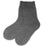 Thermal Slipper Crew with Grips | Classic | Large | Charcoal Grey