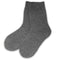 Thermal Slipper Crew with Grips | Classic | Large | Charcoal Grey - CHERRYSTONE