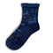 Rabbit and Stag Wool Blend Casual Crew Sock | Navy - CHERRYSTONE