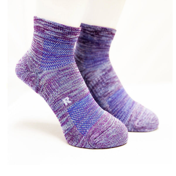 Arch Support Athletic Socks | Walking | Women | Purple - CHERRYSTONE
