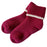 CHERRYSTONE® Slipper Socks | Turn Cuff with Grips | Wine