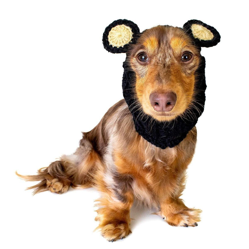 Dog Costume Black Bear Zoo Snood