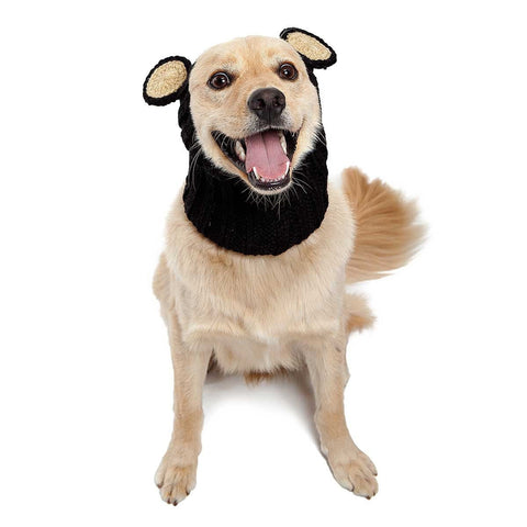 Dog Snood Costume Black Bear Zoo Snood