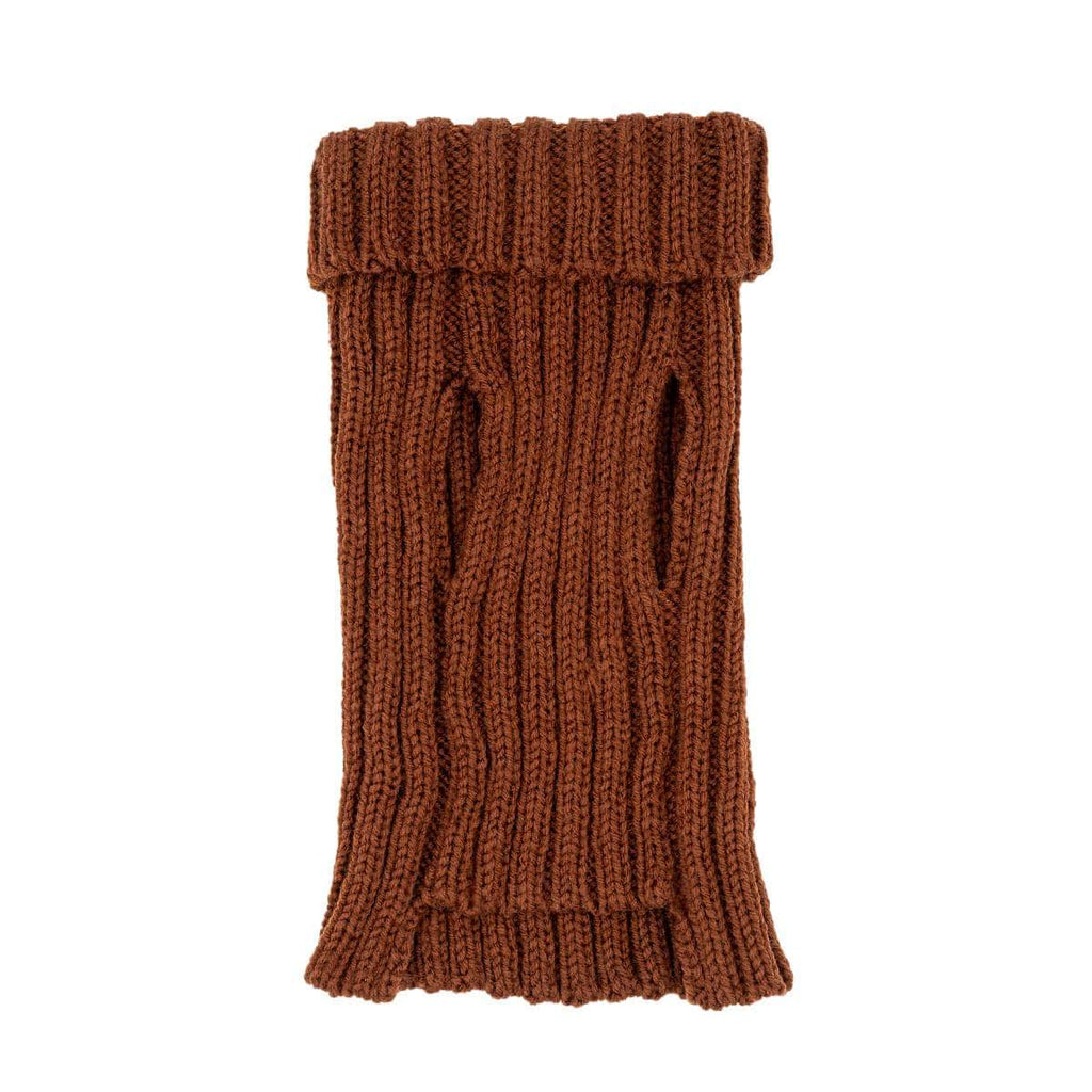 Dog Costume Brown Zoo Sweater