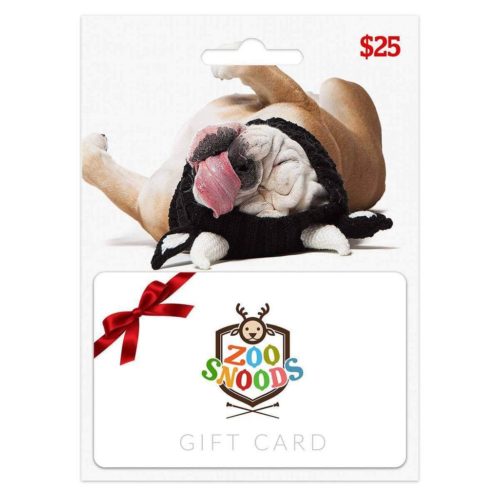 Dog Costume Zoo Snoods Gift Card