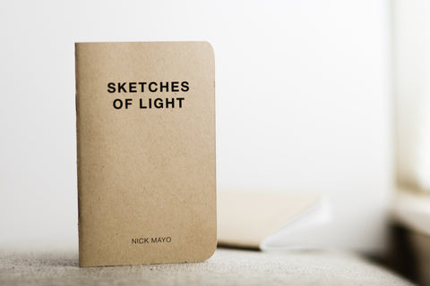 """Sketches of Light"" zine - Two Stops Film Photography Apparel"