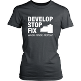 Develop Stop Fix - Womens - Two Stops Film Photography Apparel